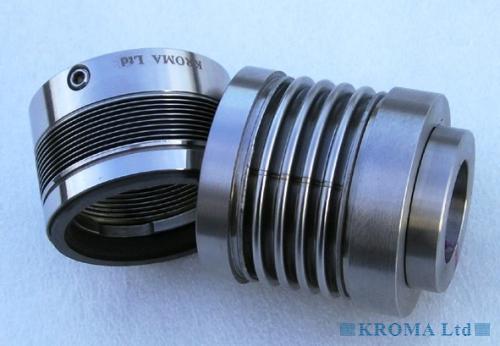Kroma ltd metal bellows mechanical seal